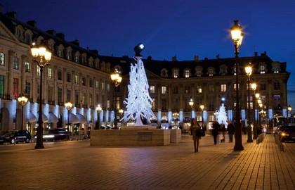 Illuminazioni Natale Parigi Place-Vendome