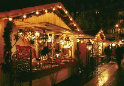 Mercatin Natale Parigi